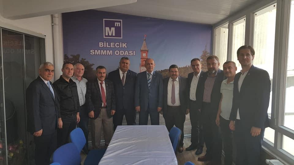 SMMM NEVZAT AKKAYA'DAN ODAMIZA  ZİYARET