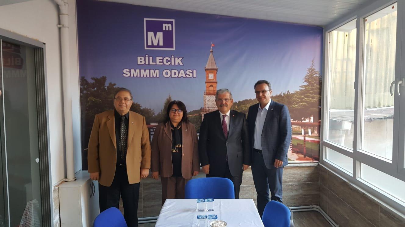 YMM SELAHATTİN ŞENLİLER'DEN ODAMIZA ZİYARET