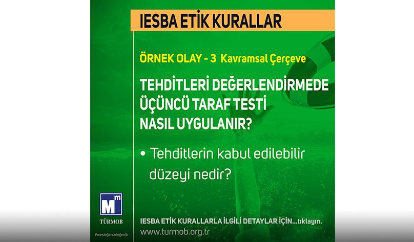 IESBA ETİK KURALLAR 3