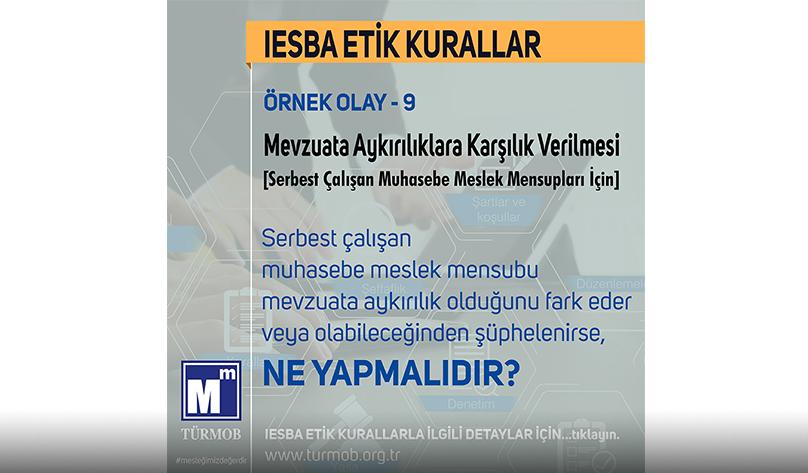 IESBA ETİK KURALLAR 9