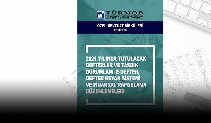 ÖZEL MEVZUAT SİRKÜLERİ 2020/218
