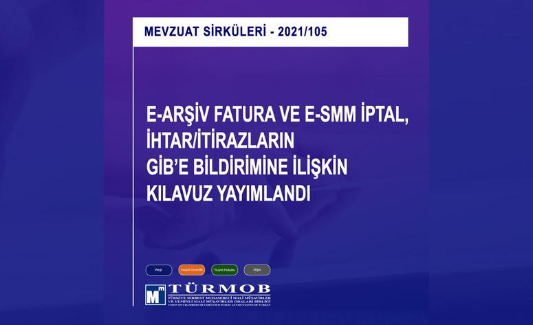 E-arşiv Fatura Ve E-smm Iptal, Ihtar/itirazların GİB'e Bildirimine Ilişkin Kılavuz Yayımlandı